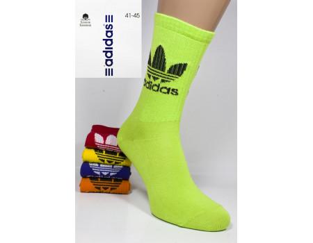 Стрейчевые мужские носки для тенниса ADIDAS высокие Арт.: 0039
