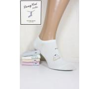 Стрейчевые женские носки ШУГУАН укороченные Арт.: 2542-2 / Penguin / Упаковка 12 пар /