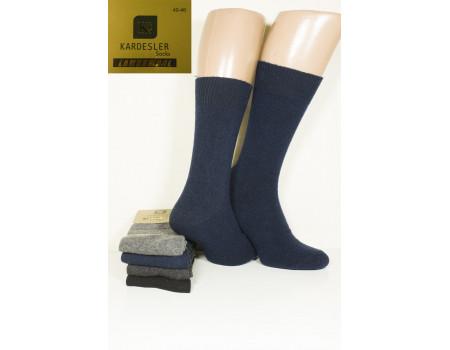 Шерстяные мужские носки KARDESLER из тонкой шерсти высокие Арт.: 6000 / 09 / Упаковка 12 пар /