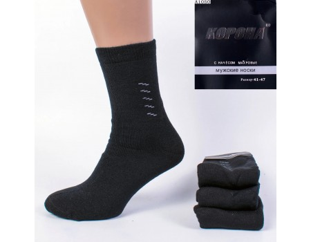 Махровые мужские носки КОРОНА высокие Арт.: A1050