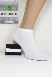 Стрейчевые женские носки MONTEBELLO Ф3 короткие Арт: 7422K / Упаковка 12 пар /