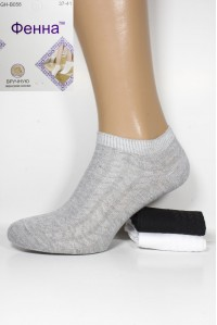Стрейчевые медицинкие женские носки Фенна короткие Арт.: GH-B058-1 / Упаковка 10 пар /