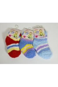 Махровые детские носки Шугуан средней высоты Арт.: 3008 / Baby Socks / Упаковка 12 пар /