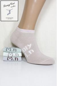 Стрейчевые женские носки ШУГУАН укороченные Арт.: 2542-3 / ONLI M.N / Упаковка 12 пар /