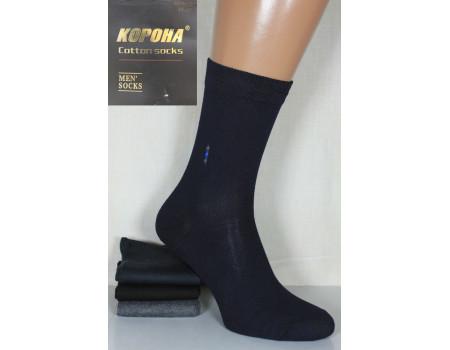 Стрейчевые мужские носки КОРОНА высокие Арт.: A1046