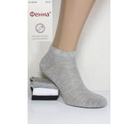 Стрейчевые женские носки в сеточку ФЕННА короткие Арт.: B038-1 / Упаковка 10 пар /