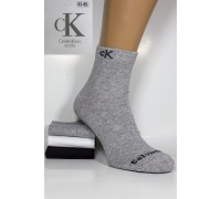 Стрейчевые мужские носки Calvin Klein / 1047 / средней высоты Арт.: 383699-35