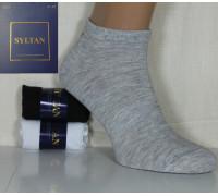 Стрейчевые мужские спортивные носки SYLTAN укороченные Арт.: 9523E-1 / Упаковка 3 пары /