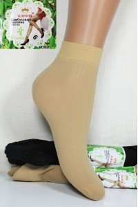 Полиамидные женские носки КОРОНА короткие Арт.: B211