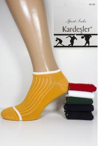 Стрейчевые мужские носки KARDESLER короткие Арт.: 8974 / Упаковка 12 пар /