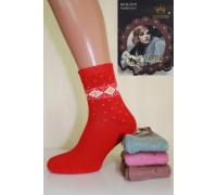 Женские махровые носки из ангоры КОРОНА Арт.: B2510-3