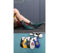 Стрейчевые мужские носки КОРОНА высокие Арт.: AY120-2 / Граффити /