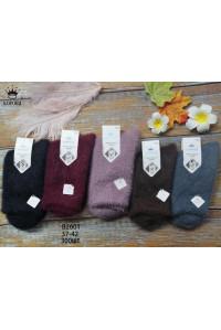 Женские носки из норки КОРОНА высокие Арт.: B2601