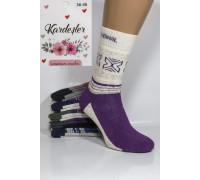 Махровые женские носки KARDESLER Thermal высокие Арт.: 55479-1 / Орнамент /