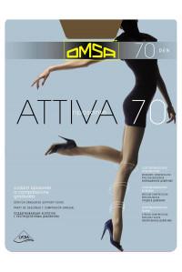 Колготки женские поддерживающие OMSA Attiva 70