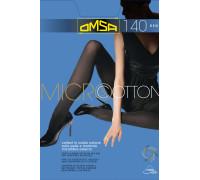 Колготки двухслойные тёплые OMSA Micro & Cotton 140