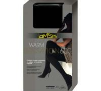 Тёплые хлопковые колготки OMSA Warm Sensation 600