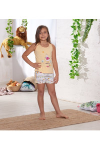 Детская пижама для сна из шортиков и маечки SEVIM Арт: 7824