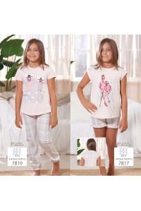Детская пижама для сна из шортиков и футболки SEVIM Арт: 7817