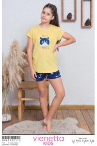 Детская пижама для сна из шорт и футболки Vienetta Kids Арт: 008118-0112