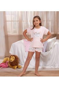 Детская пижама для сна из шортиков и футболки SEVIM Арт: 7869