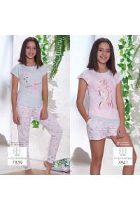 Детская пижама для сна из шортиков и футболки SEVIM Арт: 7841