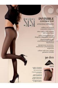 Колготки моделирующие без шортиков SISI Invisible Control Top 30