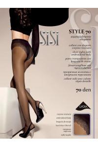 Колготки с ажурными трусиками SISI Style 70