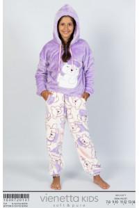 Детский комплект штанов и худи oversize из велсофта Vienetta Kids Арт.: 103072-0131