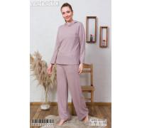 Комплект штанов и футболки с длинным рукавом интерлок Vienetta Secret Арт: 008152-0000