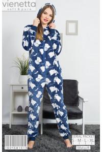 Пижама комбинезон для велсофта Vienetta Secret Арт: 160458-1013