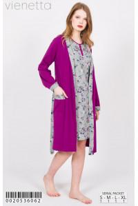 Комплект туники и халат Vienetta Secret Арт: 002053-6062