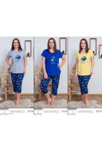 Комплект капри и футболки Vienetta Secret Арт: 008119-0112