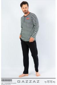 Комплект штанов и футболки с длинным рукавом Gazzaz by Vienetta Арт.: 104045-0466