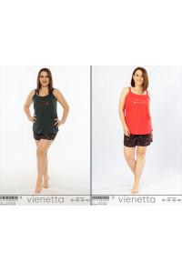 Комплект шорт и майки на узких шлейках Vienetta Secret Арт.: 012125-6507