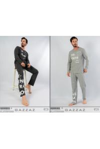 Комплект штанов и футболки с длинным рукавом Gazzaz by Vienetta Арт.: 104366-0000