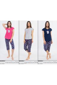 Комплект капри и футболки Vienetta Secret Арт: 008018-6530
