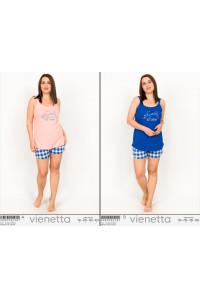 Комплект шорт и майки на тонких шлейках Vienetta Secret Арт: 008098-2387