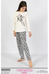 Детская пижама из штанов и футболки с длинным рукавом Vienetta Kids Арт.: 102064-1721
