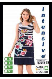 Туника платье на толстых шлейках Intensive Арт.: 17314