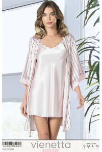 Комплект сатиновый туники и халат Vienetta Secret Арт: 160820-4880
