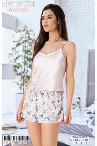 Комплект шорт и майки на тонких шлейках Vienetta Secret Арт: 160765-4876