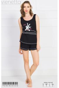 Комплект шорт и майки на широких шлейках Vienetta Secret Арт: 908040-0000