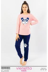 Детская пижама из штанов и футболки с длинным рукавом Vienetta Kids Арт.: 102121-0000