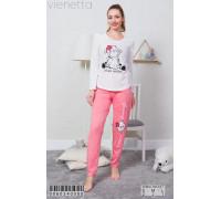 Комплект штанов и футболки с длинным рукавом Vienetta Secret Арт: 006034-0000