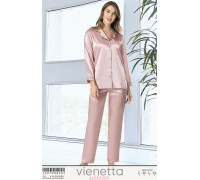 Комплект сатиновый из штанов и рубашки Vienetta Secret Арт: 160798-4952