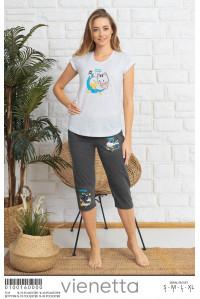 Комплект капри и футболки Vienetta Secret Арт: 010016-0000