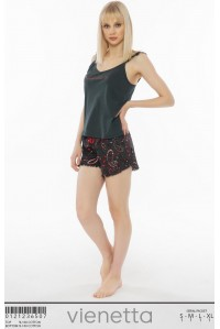 Комплект шорт и майки на узких шлейках Vienetta Secret Арт.: 012123-6507