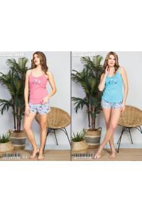 Комплект шорт и майки на тонких шлейках Vienetta Secret Арт.: 910054-3918