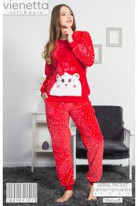 Детская пижама из штанов и футболки с длинным рукавом Vienetta Kids Арт: 160464-1019